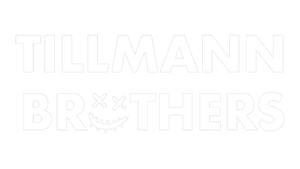 Tillmann Brothers Productions - Logo white