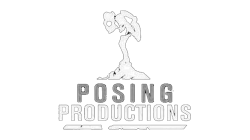 Posing Productions - Logo white