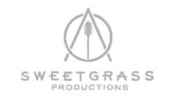 Sweetgrass Productions - Logo white